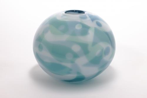 Willem Heesen, Unique vase, 'Deep sea' series, De Oude Horn, 2001 - Willem Heesen