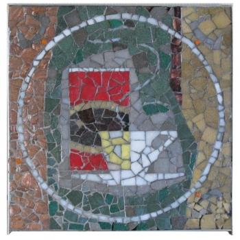 Pieter Den Besten, Mosaic for Van Nelle Koffie, 1963 - Pieter Den Besten