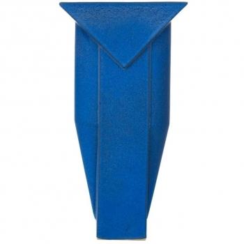 Jan van der Vaart, Blauwe steengoed 'Multipel' vaas, ontwerp 1993, uitvoering 1997 - Jan van der Vaart