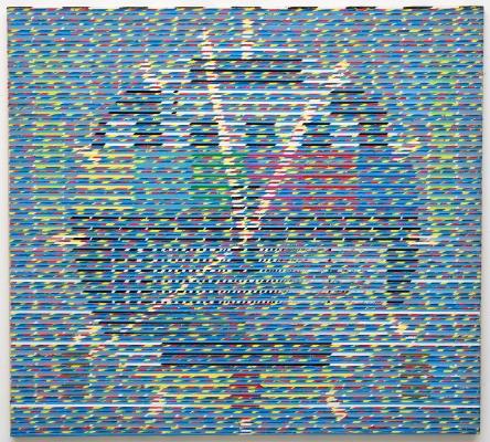 p57 Klok in testbeeld Burgert Konijnendijk