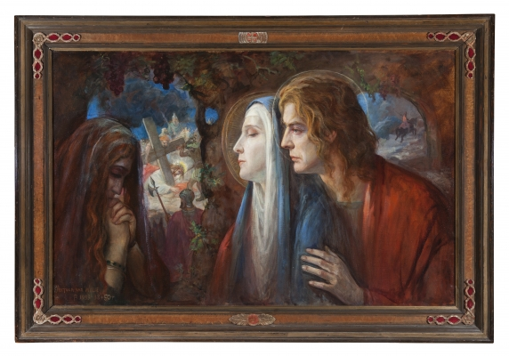 De drie getrouwen - Antoon van Welie