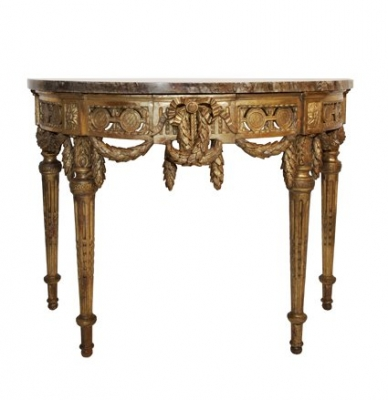 A French Louis Seize console table