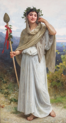 Priestess of Bacchus - William Bouguereau