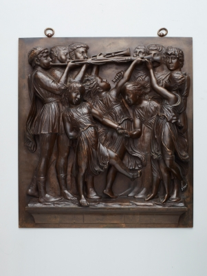 A high quality relief Wall Decoration by Barbedienne a Paris, circa 1880