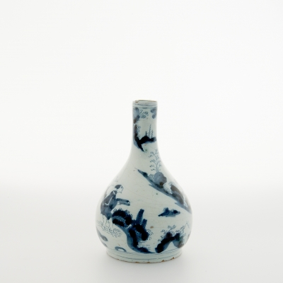A Small Delft Vase