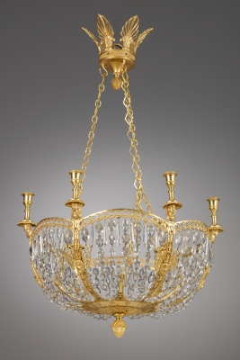 Russian Six Lights Chandelier