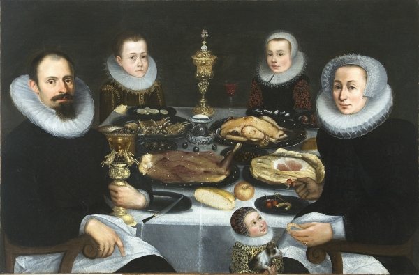 Portrait of a Patrician Family