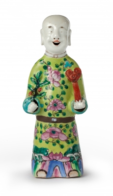 Chinese figure of a dignitary