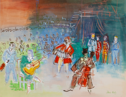 Clowns musiciens - Jean Dufy