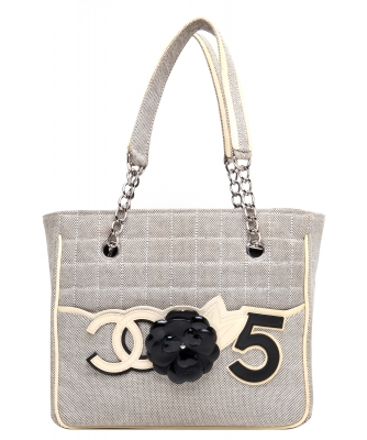 Chanel Camellia No 5 Tote Bag
