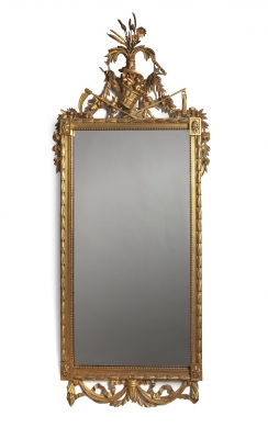 Dutch Louis Seize mirror