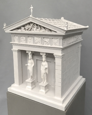 Scale model Delphi Treasury