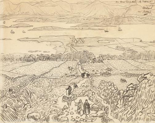 St. Patrick Road, Ireland September 14 1910 - Jan Toorop