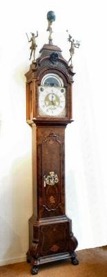A Dutch Musical Longcase Clock, by Allin Walker, Amsterdam, c. 1750.