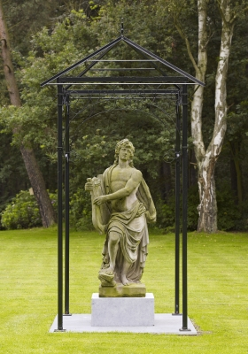 Dutch Garden Sculpture representing Apollo Musagetes