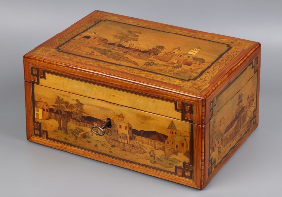 French Louis XVI Document Case attributed to: André Louis Gilbert