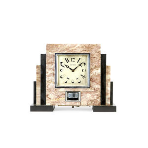 M125 French marble Atmos mantel timepiece