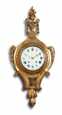 A Louis Seize Cartel Clock