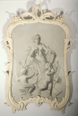 Antique Wall-grisaille