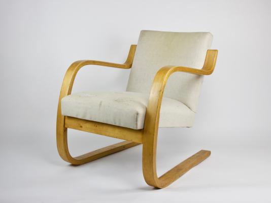 Alvar Aalto, bentwood chair, early edition, model 402, designed in 1933 - Alvar Aalto