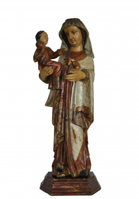 Madonna and child, Germany, about 1350 - 1400.