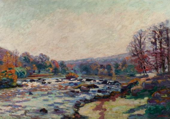 Barrage de Génétin, Crozant - Armand Guillaumin