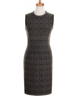 Alaïa Geometric Print Sleeveless Dress - Azzedine Alaïa