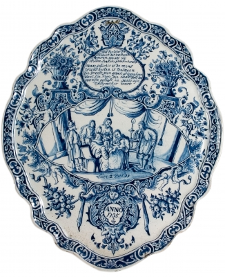 Blue Delft Plaque