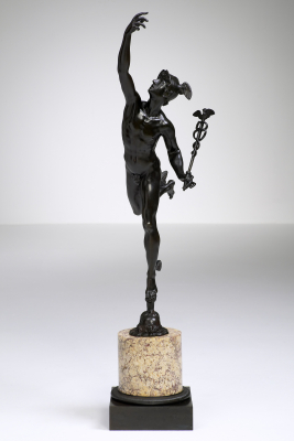 French Bronze Mercury after Giambologna