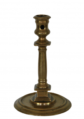 French Henry Deux candlestick, end 16th century.