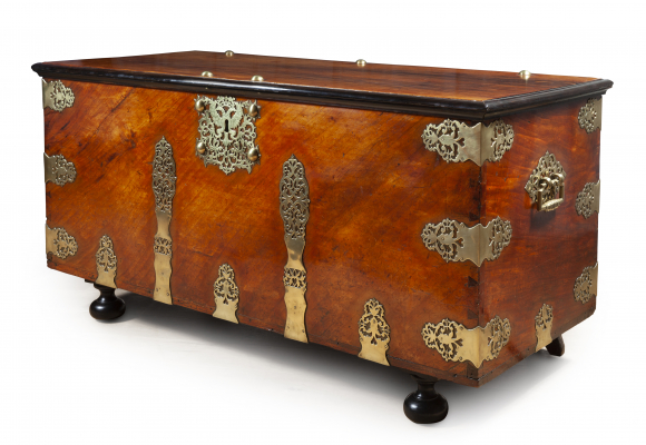 A Dutch Colonial Governors Chest