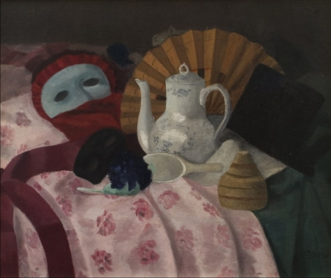 Still-life with mask