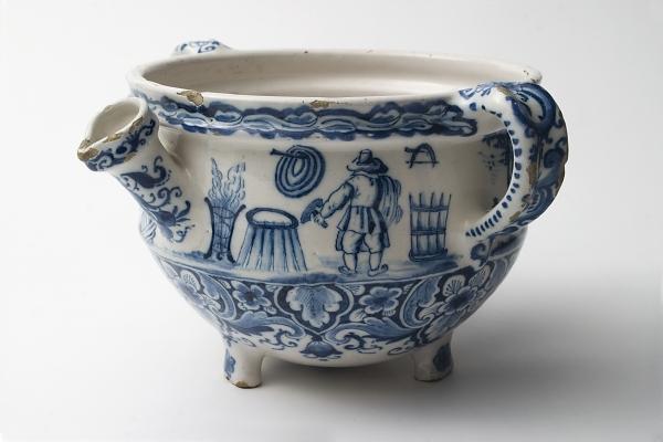 Een Roompot in Blauw Delfts