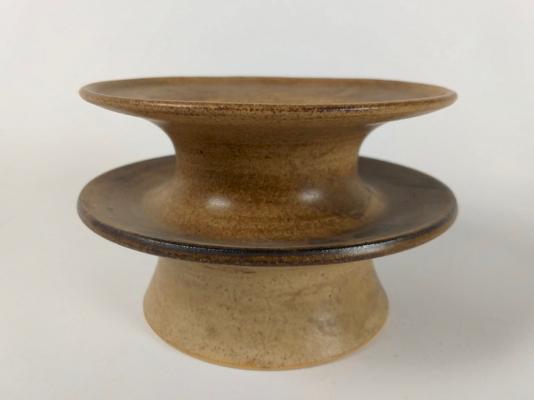 Jan van der Vaart, turned stoneware vessel, unique piece, 1963 - Jan van der Vaart