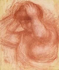 Femme se coiffant - Pierre-Auguste Renoir
