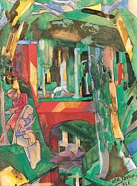 De vlucht naar Egypte - Jan Toorop
