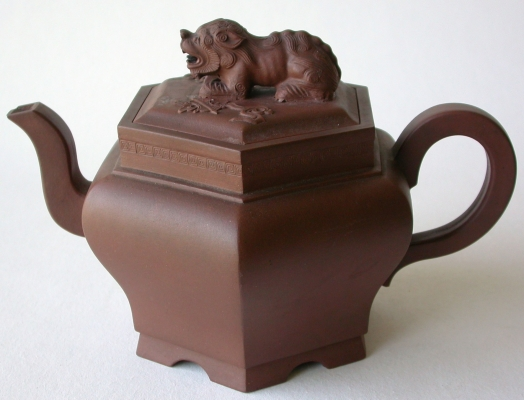 Yixing purple clay teapot