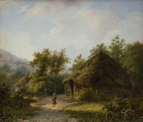 Landscape, pendant