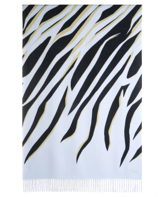 Dior Multicolor Abstract Print Cashmere Stole - Christian Dior