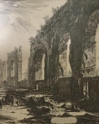 Piranesi: Aquaduct of Nero in Rome