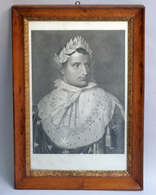 Napoleon in coronation robes