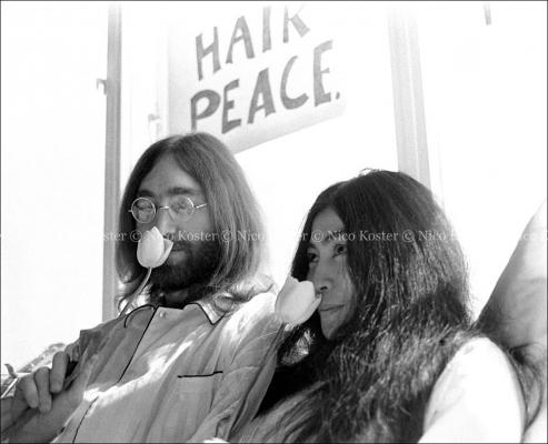 John Lennon & Yoko Ono - Peace - Kamer 902 Hilton # 1