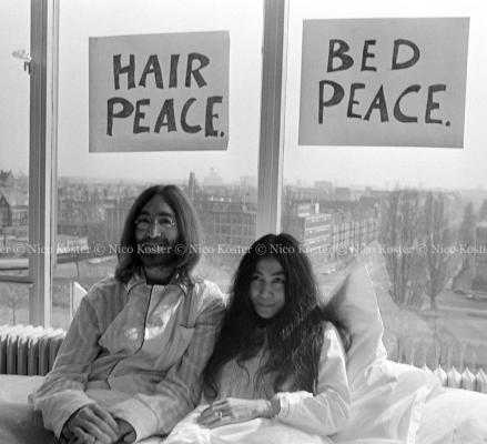 John Lennon & Yoko Ono - Peace - Kamer 902 Hilton # 22
