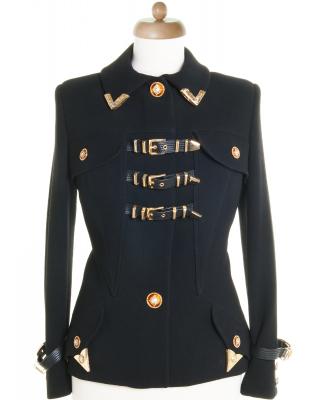 AW 1992 Versace Runway Jacket | Bondage Collection - Gianni Versace