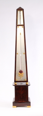 A French obelisk barometer, probably made in 1836