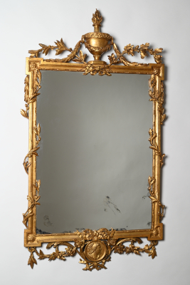 A 18th century Dutch Louis Seize mirror