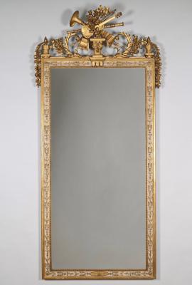 A Dutch Louis Seize Mirror