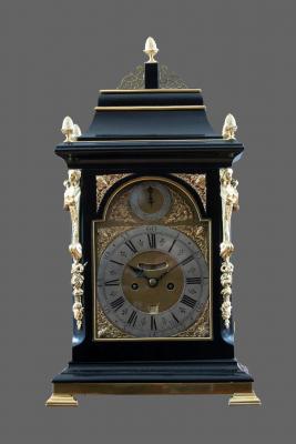 An English table clock John May London - John May