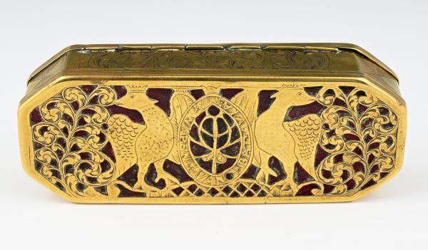 A Dutch tobacco box