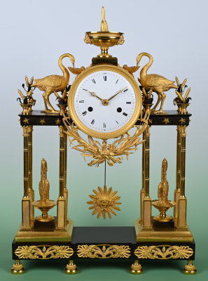A French Directoire Ormulo Pendule